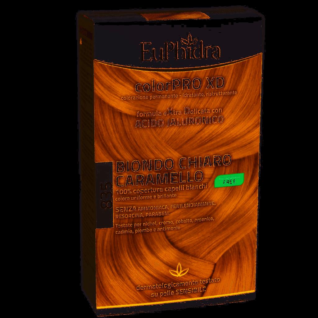Euphidra Colorpro Xd Tinta Per Capelli Biondo Chiaro Caramello 835 Kit Completo