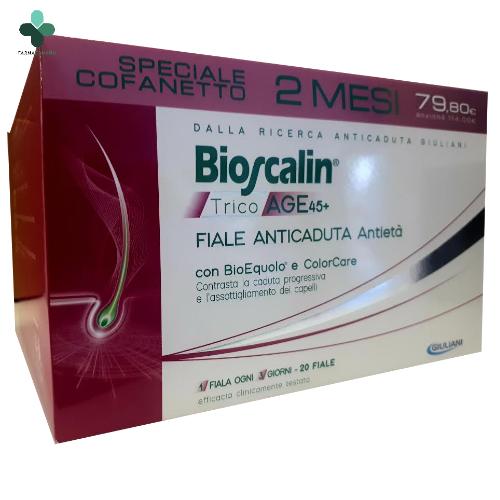 Bioscalin TricoAge 45+ Fiale anticaduta antietà capelli ...