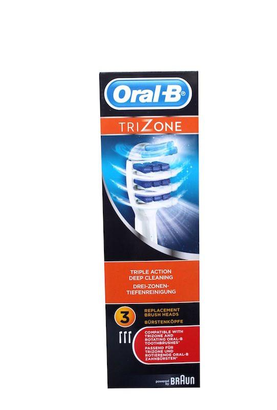 Braun Oral-B TriZone Testine di Ricambio Spazzolino Elettrico 4 Confezione