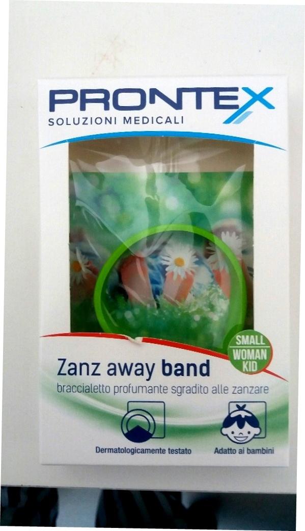 Prontex ZanzAway Band braccialetto profumante repellente zanzare taglia S  bimbi e donne (1 pz)