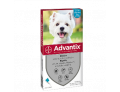 Advantix Spot on per cani da 4 a 10kg (4 pipette)