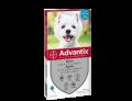 Advantix Spot on per cani da 4 a 10kg (4 pipette)