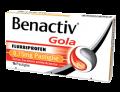 Benactiv Gola senza Zucchero gusto Arancia (16 pastiglie)