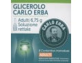 Carlo Erba Glicerolo Adulti soluzione rettale (6 monodose)