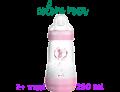 Mam Easy Start biberon anti coliche flusso medio 2+ mesi colore rosa (260 ml)