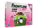Frontline Tri act soluzione antiparassitario spot on per cani da 2 a 5kg (6 pipette)