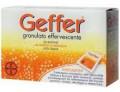 Geffer integratore contro l'iperacidità gusto arancia (24 bustine effervescenti)