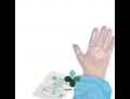 Guanti sterili ai copolimeri su carta taglia unica (1 guanto)