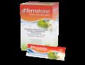 Loacker FerroTone 100% naturale integratore di Ferro gusto mela (28 bustine)