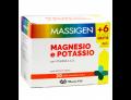 Massigen Magnesio e Potassio zero zuccheri gusto arancia rossa (24 + 6 bustine gratis)