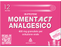 MomentAct Analgesico granulato 400mg (12 bustine)