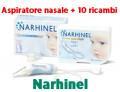 Narhinel Aspiratore nasale + ricambi usa e getta (12 pz)