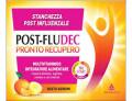 Post FluDec Pronto Recupero multivitaminico per stanchezza post influenzale gusto agrumi (12 bustine)