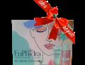 Euphidra Kit Rigenerante viso idee regalo donna (maschera viso 75ml + lozione micellare 100ml + makeup drop)