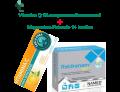 Kit Vitamina C Carlo Erba (10 compresse effervescenti) + Reidranam Mgk magnesio e potassio (14 bustine)
