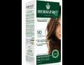 HerbaTint gel colorante permanente capelli 5D castano chiaro dorato (kit completo)