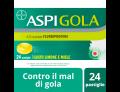 Aspi Gola limone e miele (24 pastiglie orosolubili)