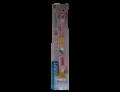 Curasept Biosmalto spazzolino bimbi morbidissimo per bambini 0-3 anni + cappuccio azzurro o rosa (1 pz)