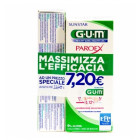 Gum Paroex Bundle Pack collutorio 0.12% placca e gengive (300 ml) + dentifricio 0.06% gengive irritate (75 ml)