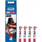 Oral B Kids Star Wars testine di ricambio 3+ anni (4 pezzi)