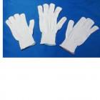 Guanto in cotone bianco 6