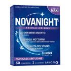 NovaNight tripla azione integratore di Melatonina (30 compresse)