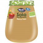 Hero solo omogeneizzato pera mela 100% bio 120 g