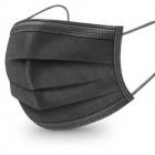 Mascherina chirurgica 360mask02/n nera 10 pezzi