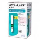 Accu Chek Active Strips (25 strisce)