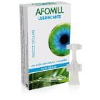 Afomill Umettante Lubrificante occhi gocce naturali con acido ialuronico (10 flaconcini)
