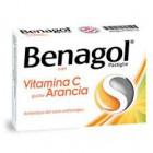 Benagol Vitamina C gusto Arancia (36 pastiglie)