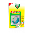 Jungle Slap-it braccialetto a scatto antizanzare per bambini (1 pz + 2 ricariche)