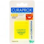 Curaprox Filo Interdentale Df 823 Classico-Floss ultrafine Non Cerato + Clorexidina (50 mt)
