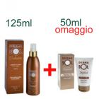 DermaSol Solaire spray crema solare fluida corpo stimolatore di abbronzatura bassa protezione (125 ml) + DopoSole prolungatore abbronzatura (50 ml) omaggio