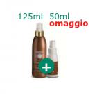 DermaSol Solaire spray crema solare fluida corpo stimolatore di abbronzatura media protezione (125 ml) + 50 ml in omaggio