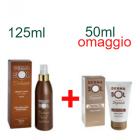 DermaSol Solaire spray crema solare fluida corpo stimolatore di abbronzatura media protezione (125 ml) + DopoSole prolungatore abbronzatura (50 ml) omaggio