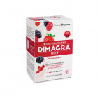 Dimagra Protein Red Fruit Frutti rossi (10 buste)