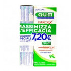 Gum Paroex Bundle Pack collutorio 0.20% azione intensiva gengive (300 ml) + dentifricio 0.06% gengive irritate (75 ml)
