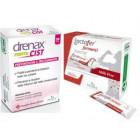 Drenax Forte Cist prevenzione e trattamento cistite (28 cps) + Lactofer fermenti (12 bustine) Omaggio