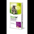 Drontal Multi Aroma Carne per Cani fino a 10kg (6 cpr)