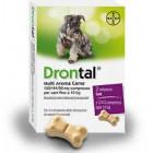 Drontal Multi Aroma Carne per Cani fino a 10kg (2 cpr)