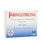 Faringotricina 2.5mg compresse orodispersibili (20 cpr)