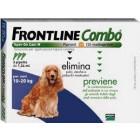 Frontline Combo spot on Cani da 10 a 20 kg (3 pipette)
