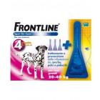 Frontline Spot on antiparassitario per Cani da 20 a 40 kg (4 pipette)