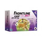 Frontline Tri act soluzione antiparassitario spot on per cani da 20 a 40kg (6 pipette)
