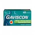 Gaviscon menta 250mg+ 133.5mg (48 compresse masticabili)