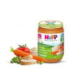 Hipp Biologico Omegeneizzato Fantasia di verdure pollo e riso (vasetto 190 g)