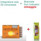 LievitoSohn Sole integratore biologico per la protezione della pelle (30 compresse) + Bracciale Sun UV Indicator omaggio