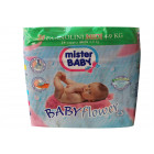 Mister Baby Flower Pannolini midi 4-9kg (24 pz)
