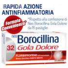 NeoBorocillina Gola Dolore menta (32 pastiglie)